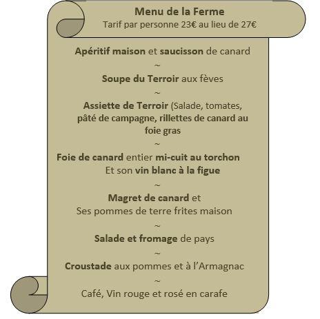 menus 2